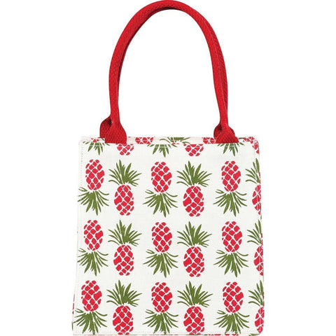 Holiday Pineapple Itsy Bitsy Gift Bag, Pack of 4 (Price is per Bag) - 8/25