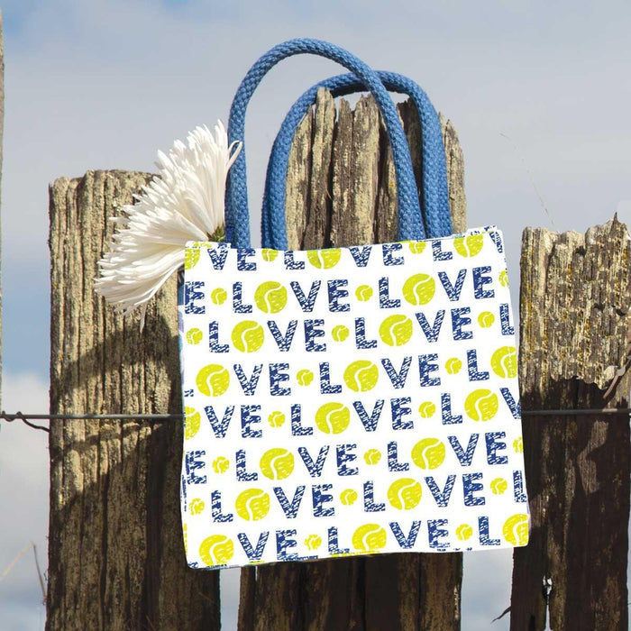 Tennis Love Itsy Bitsy Gift Bags, Pack of 4 (Price is per Bag) - rockflowerpaper LLC
