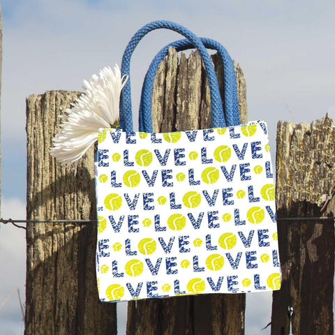 Tennis Love Itsy Bitsy Gift Bags, Pack of 4 (Price is per Bag)