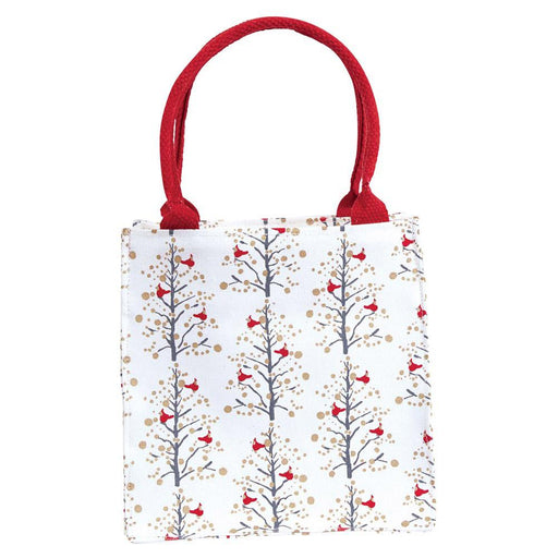 Winter Cardinal Neutral Itsy Bitsy Gift Bags, Pack Of 4 (Price is per Bag) - rockflowerpaper LLC