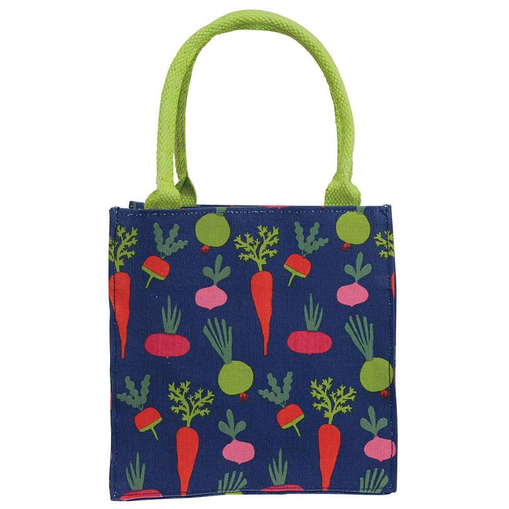 Root Veggies Blue Itsy Bitsy Gift Bags, Pack Of 4 (Price is per Bag)
