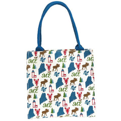 Maine Blue Itsy Bitsy Gift Bags, Pack Of 4 (Price is per Bag)