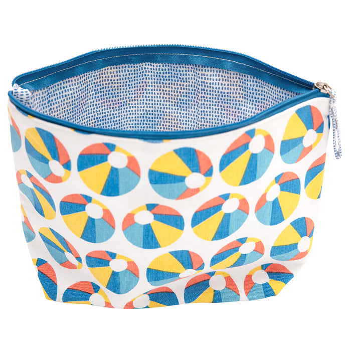Beach Ball Large Relaxed Pouch - rockflowerpaper LLC
