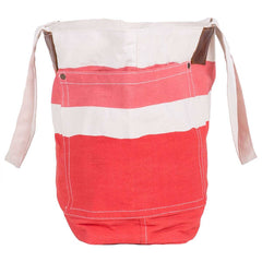 Painterly Stripe Pink Relaxed Canvas Tote Bag