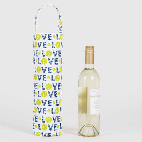 Tennis Love Wine Gift Bag - 8/25