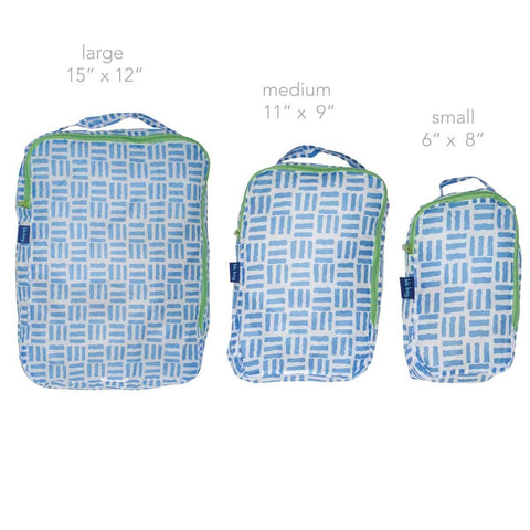 Pillars Blu Bag Travel Cubes - Set of Three