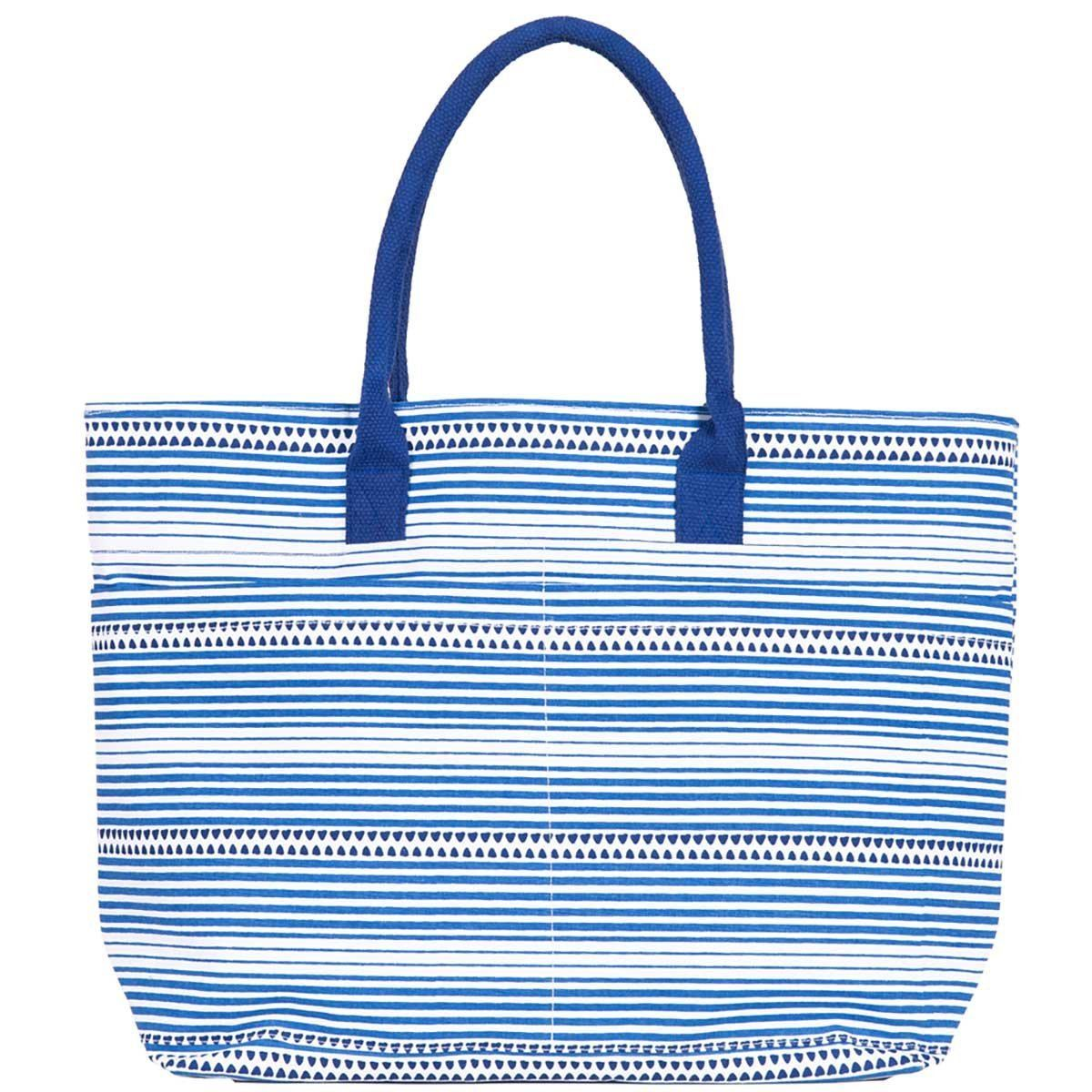 Bethany Blue Beach Tote Bag