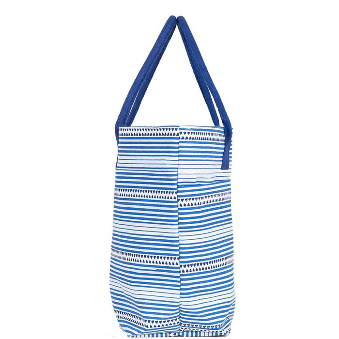 Bethany Blue Beach Tote Bag - rockflowerpaper LLC
