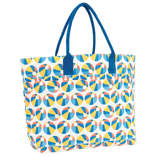 Beach Ball Beach Tote Bag - rockflowerpaper LLC