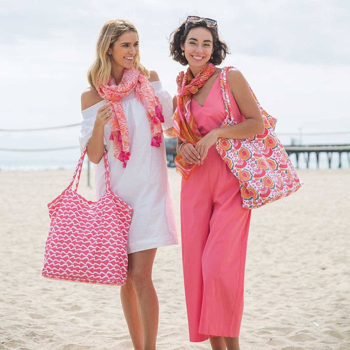 Melons Pink Beach Bucket Bag - rockflowerpaper LLC