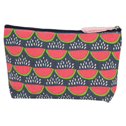Juicy Watermelon Navy Medium Relaxed Pouch - rockflowerpaper LLC
