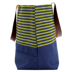 Evelyn Olive Canvas Carryall Tote Bag
