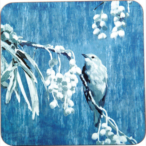 Chintz Bird Art Coasters - Set of Four - rockflowerpaper LLC