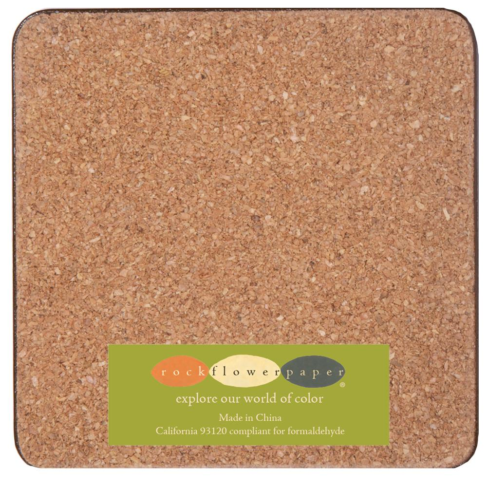 Flicker Neutral Square Art Coasters - Set Of Four - rockflowerpaper LLC