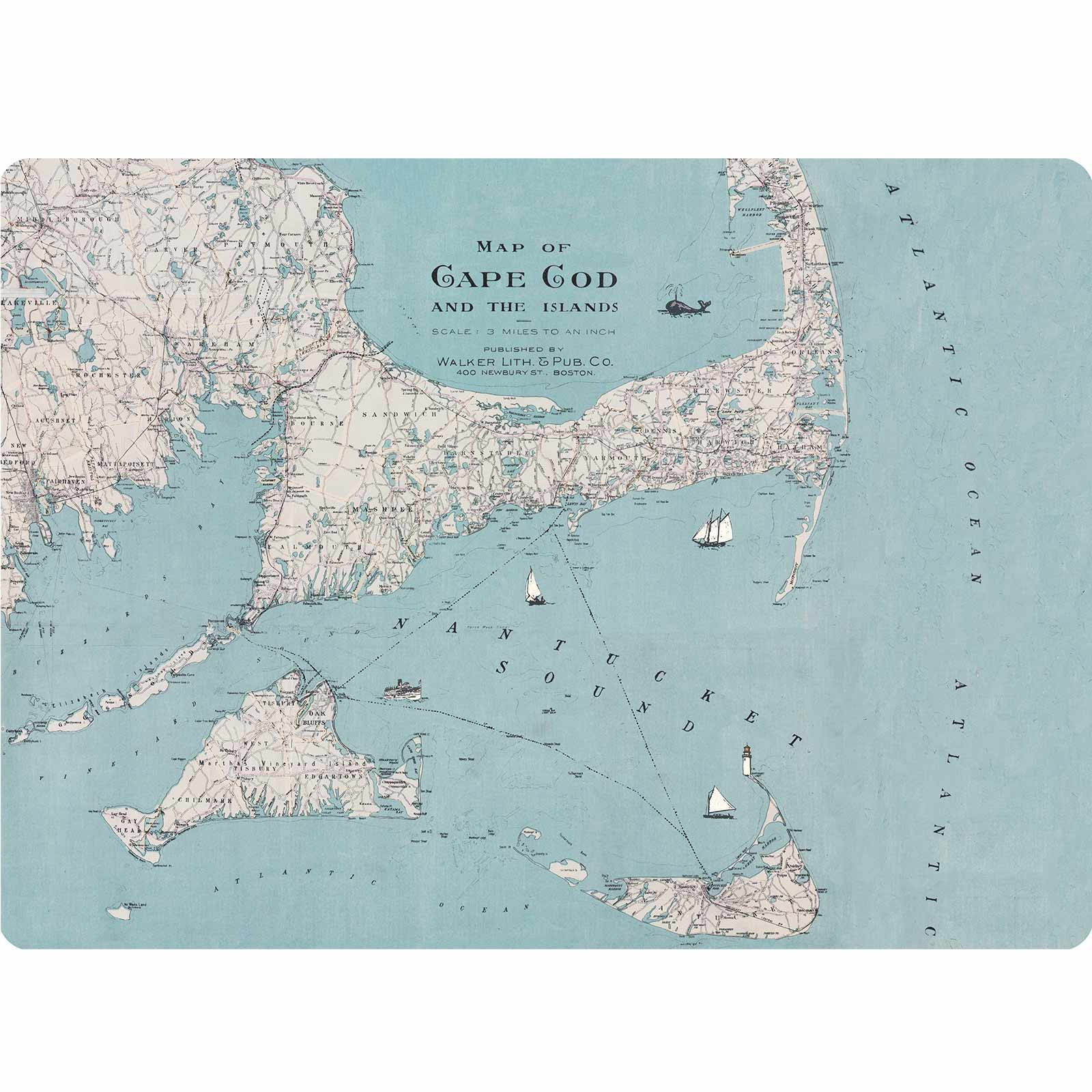 Cape Cod Art Placemats Set of Four