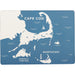 Coastal Cape Hard Placemats - Set of 4 - rockflowerpaper LLC