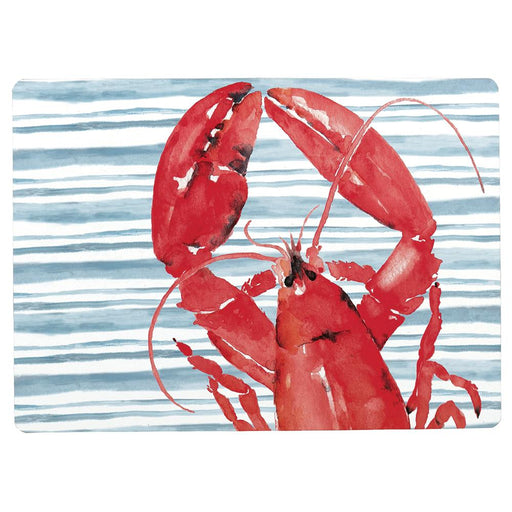Red Lobster Hard Placemats - Set of 4 - rockflowerpaper LLC