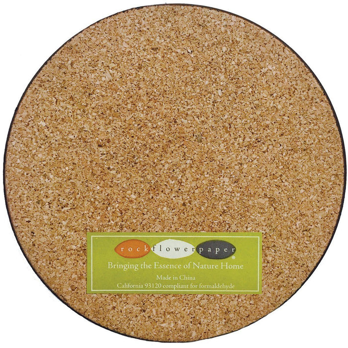 Cafe Misto Round Art Coasters - Set of Four - rockflowerpaper LLC