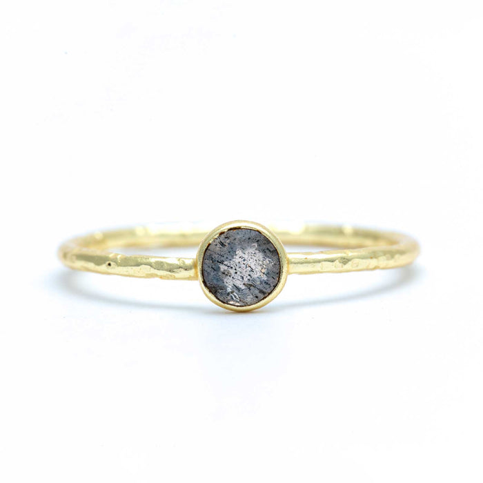 Labradorite Gold Ring Gold Plated