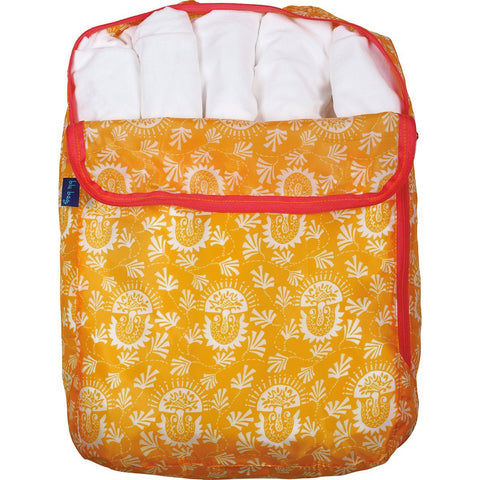 Iris Orange Blu Bag Travel Organizer Set of Three