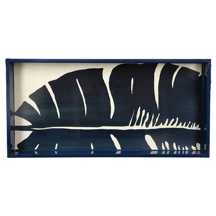 "Banana Leaf 10"" x 20"" Art Tray - rockflowerpaper LLC"