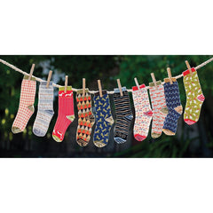 Christmas Dachshunds Pair of Crew Length Socks - rockflowerpaper LLC