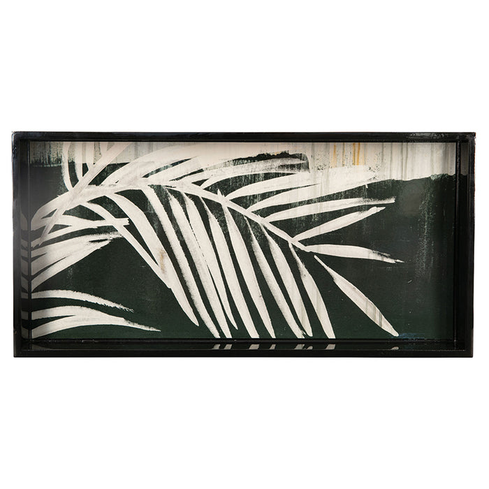 "Neutral Palm 10"" x 20"" Art Tray - rockflowerpaper LLC"