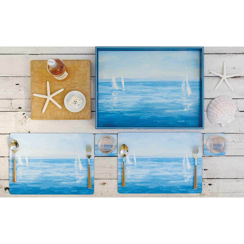 Open Sail Art Placemat - Set of Four