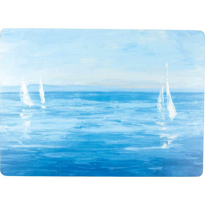 Open Sail Art Placemat - Set of Four - rockflowerpaper LLC
