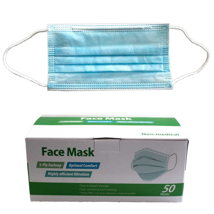 Personal Protective Mask - Box of 50 (Price is per Unit)