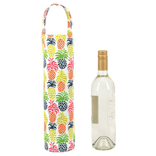 Pineapple Party Wine Tote - rockflowerpaper LLC