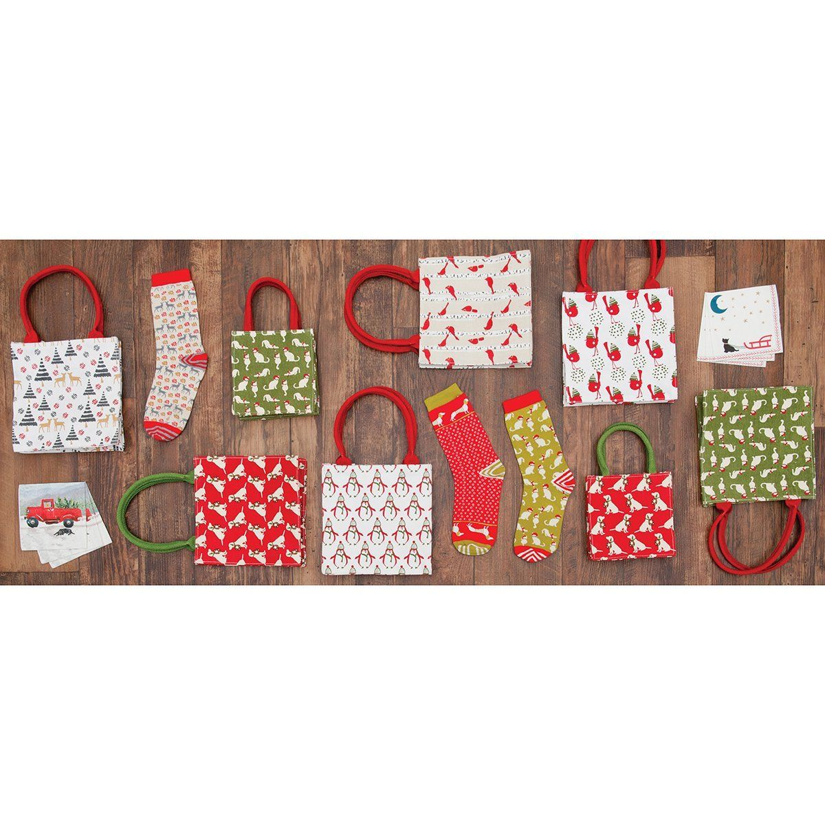 Monte Rosa Itsy Bitsy Gift Bag, Pack of 8 (Price is per Bag)