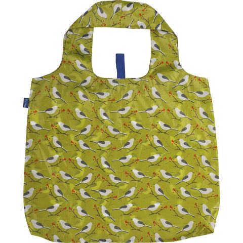Snowy Bird Blu Bag Reusable Shopping Bag