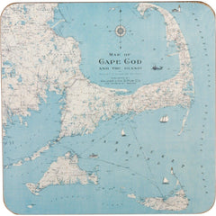 Cape Cod Art Coasters - Set Four - rockflowerpaper LLC