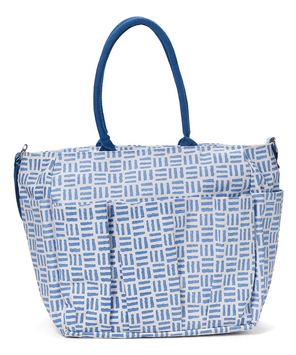 Pillars Blue Weekender Bag