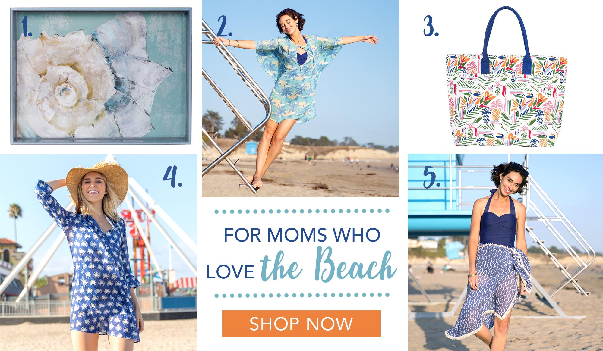 Mother's Day Gift Ideas for Moms Who Love the Beach