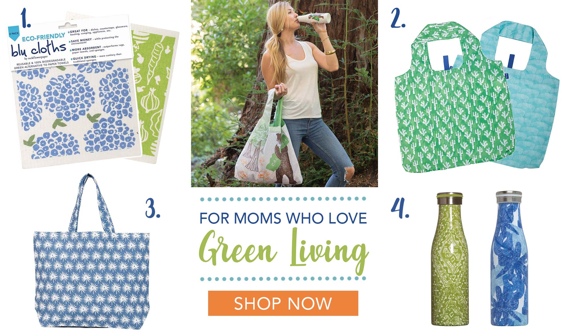 Mother's Day Gifts For Eco-Friendly Moms Who Love Green Living