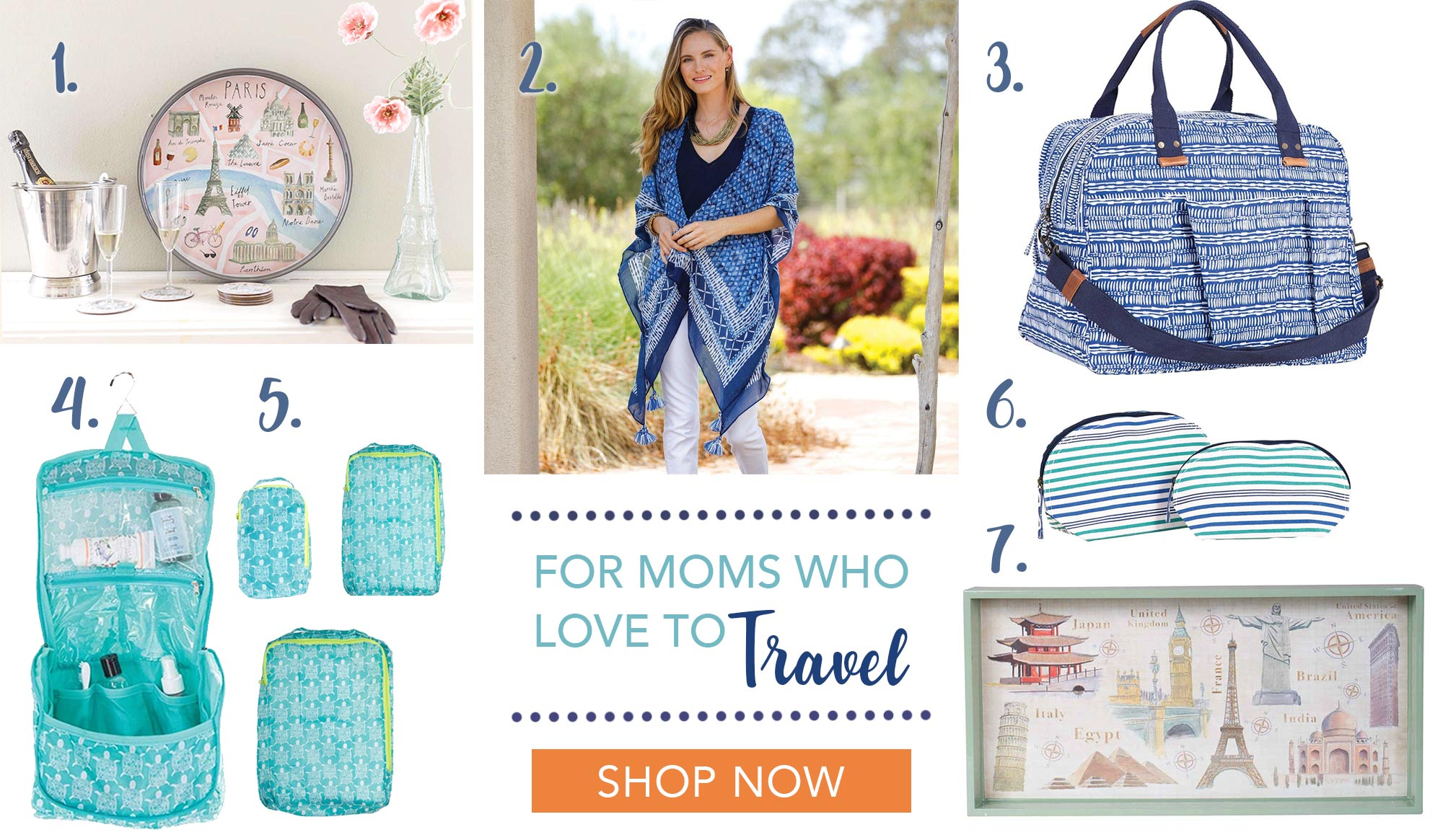 Mother's Day Gifts for Moms Who Love to Travel