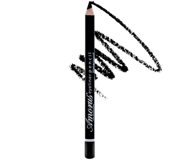 Amor Us Waterproof Eyeliner Pencil - Black - Wholesale Pack 24PCS (CO-PES-01)