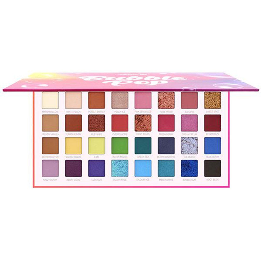 Amor Us Bubble Pop - 32 Eyeshadow Palette - Wholesale Display 12PCS (CO-BPESD)