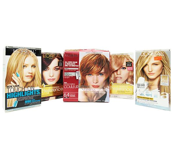 Assorted Loreal Hair Color Box 50PCS (LOHAC)