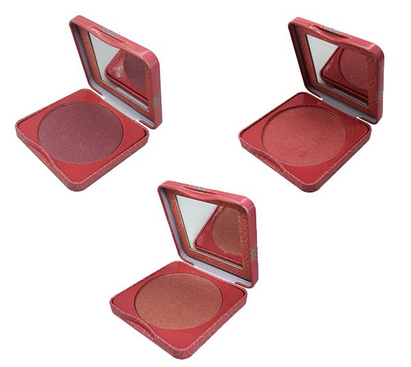 Atenea Beauty Blush Assorted - Wholesale Pack 12PCS (PS0289-1-2-3)