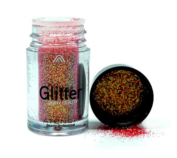 Atenea Glitter Shiny Beauty Coral - Wholesale Pack 20PCS (ES0469-4N)