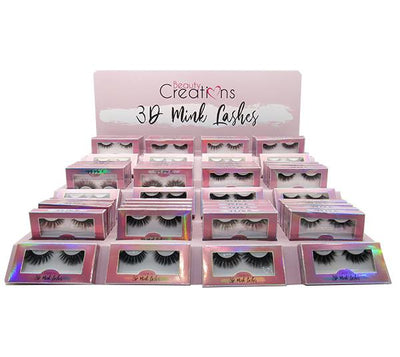 Beauty Creations Eyelashes 3D Display Mink - Holographic