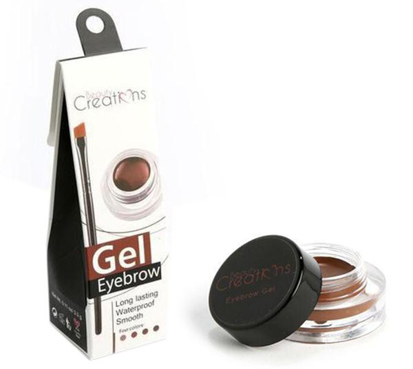 Beauty Creations Gel Eyebrow Long Lasting Waterproof  - Wholesale Display 12PCS (EGD01-03-04)