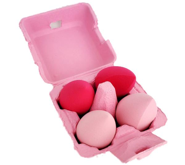Beauty Creations Chick Blenders 4PCS Blending Sponge Set - Wholesale Pack 6PCS (SE-4)