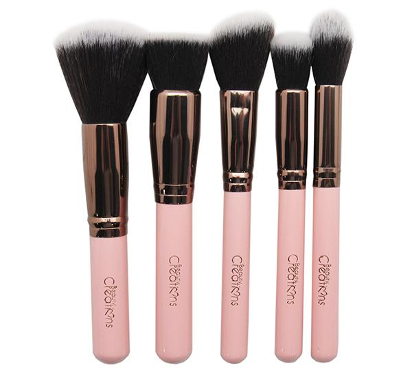 Beauty Creations 12PC Brush Set Royal Rose - Wholesale Pack 6PCS (10BSR3)