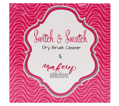 Wholesale Beauty Creations Makeup Brush Cleaner Dry Switch & Swatch Pack 12PCS (ABSS)