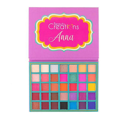 Wholesale Beauty Creations 35 Color Pro Palette Anna Pack 6PCS (BCE13)