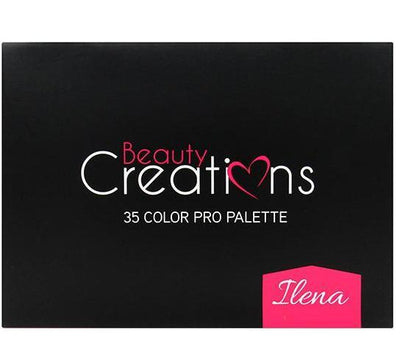 Wholesale Beauty Creations 35 Color Pro Palette Ilena Pack 6PCS (BCE3)